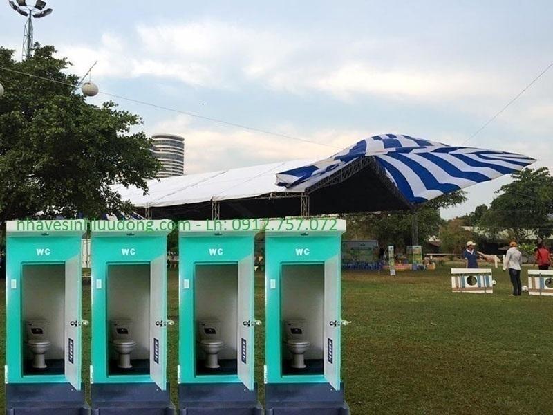 cho thuê nhà vệ sinh di động tại hải phòng